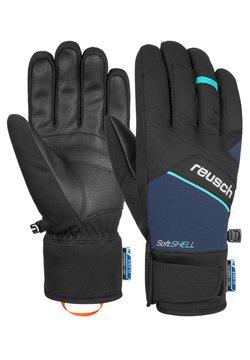 Reusch - Fingerhandschuh - black dress blue