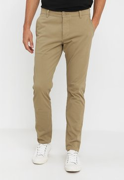 DOCKERS - SMART SUPREME FLEX SKINNY - Chinot - new british khaki