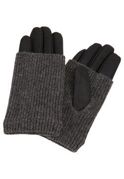 Even&Odd - LEATHER - Gloves - black