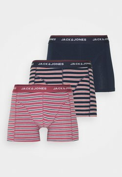 Jack & Jones - TRUNK 3 PACK - Panties - hawthorn rose/navy blazer/navy