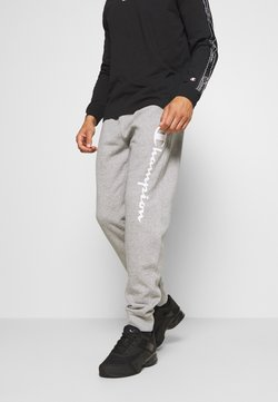 Champion - LEGACY CUFF PANTS - Verryttelyhousut - mottled grey