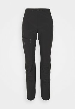 Salomon - OUTSPEED PANTS - Kangashousut - black