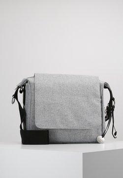 Lässig - SMALL MESSANGER BAG UPDATE - Borsa fasciatoio - black melange