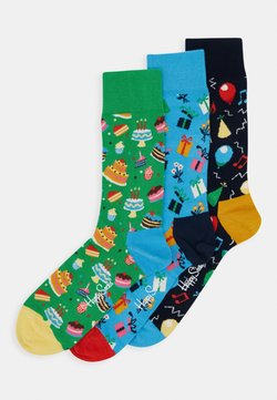 Happy Socks - HAPPY BIRTHDAY SOCKS GIFT SET 3 PACK - Sokken - multi