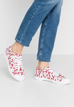Le Temps Des Cerises - BASIC - Sneakers laag - cherry/white
