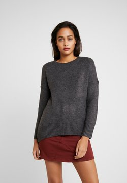 ONLY - ONLNANJING  - Strickpullover - dark grey melange
