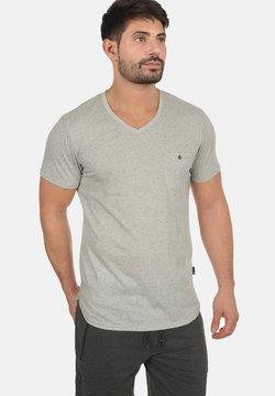 Solid - TEDROS - T-shirt basic - light grey
