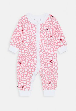 Tommy Hilfiger - BABY PRINTED COVERALL - Grenouillère - pink