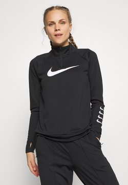Nike Performance - RUN - T-shirt sportiva - black/grey fog/white