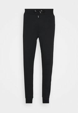 NU-IN - BASIC SLIM FIT JOGGERS - Jogginghose - black