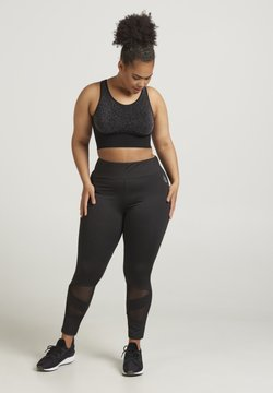 Active by Zizzi - ABAGUIO ANCLE PANTS - Tights - black