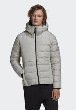 adidas Performance - URBAN COLD.RDY PRIMEGREEN OUTDOOR DOWN JACKET - Daunenjacke - grey