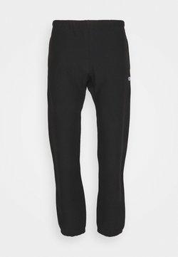 Champion Reverse Weave - ELASTIC CUFF PANTS - Jogginghose - black