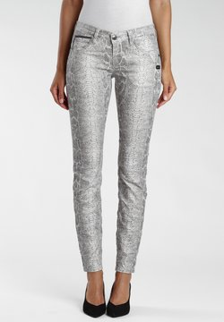 Gang - Jeans Skinny Fit - grey pearl gmd