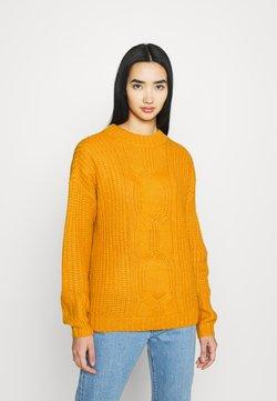 Vero Moda - VMPRESLEYALPINE - Jersey de punto - sunflower