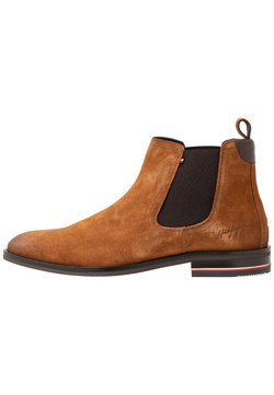 Tommy Hilfiger - SIGNATURE CHELSEA - Bottines - winter cognac