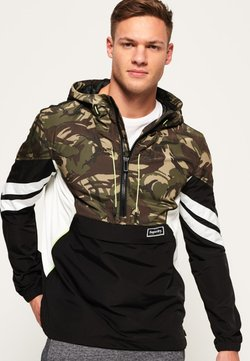 Superdry - JARED ZUM ÜBERZIEHEN  - Summer jacket - camouflage/noir