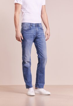 BOSS ATHLEISURE - KANSAS - Straight leg jeans - blight blue