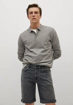 Mango - ROCK - Shorts di jeans - denimgrå