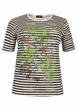 Via Appia Due - T-Shirt print - schwarz/weiß