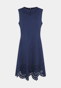 kate spade new york - SLEEVELESS CUTWORK PONTE DRESS - Shift dress - squid ink