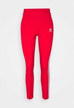 adidas Originals - STRIPES COMPRESSION - Leggings - Hosen - red