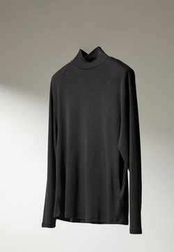 Massimo Dutti - Long sleeved top - dark blue