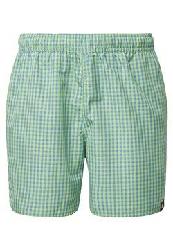 adidas Performance - CHECK CLX SWIM SHORTS - Swimming shorts - green
