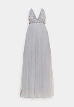 Needle & Thread - NEVE EMBELLISHED BODICE MAXI DRESS - Ballkleid - frost blue
