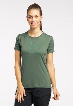 Haglöfs - T-Shirt print - fjell green