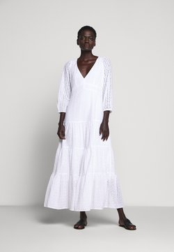 J.CREW - JOHNNIE EYELET DRESS - Maxi dress - white