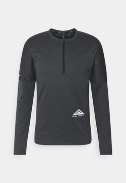 Nike Performance - TRAIL - Funktionsshirt - black/dark smoke grey