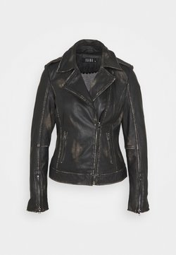 Ibana - FREYA - Leather jacket - black