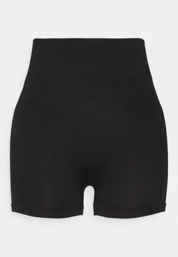 Even&Odd - SEAMLESS SHORT CYCLE SHORTS - Shorts - black