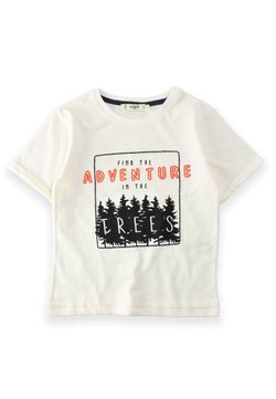 Cigit - T-shirt con stampa - white