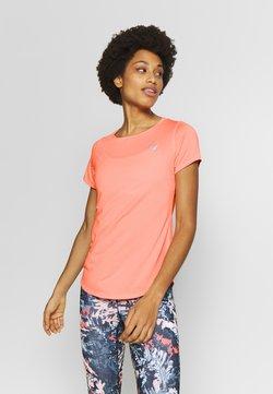 New Balance - ACCELERATE SHORTSLEEVE  - T-Shirt basic - coral