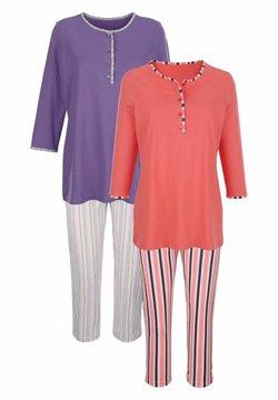 Harmony - 2ER-PACK - Pyjama - koralle,lila