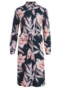 Vila - VIDANIA BELT DRESS - Blusenkleid - navy blazer