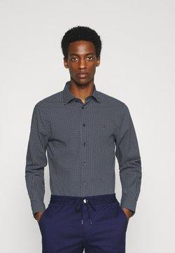 Tommy Hilfiger Tailored - GEO DOT - Koszula biznesowa - navy/light blue