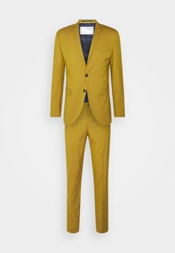 Selected Homme - SLHSKINNY- YLOLOGAN SUIT - Costume - mustard gold