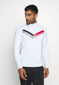 Cross Sportswear - CUT  - Fleece jumper - white