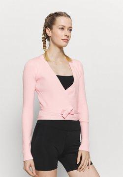 Capezio - WRAP - Trainingsjacke - pink