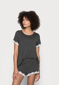 Anna Field - MATERNITY SHORT SET - Pyjamas - dark grey