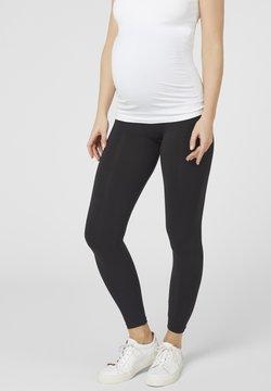 MAMALICIOUS - MLTIA JEANNE - Leggings - black
