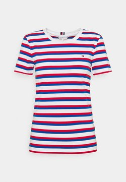 Tommy Hilfiger - COOL SLIM ROUND - T-Shirt print - ombre/ fireworks