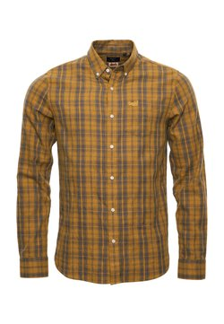 Superdry - CLASSIC LONDON - Camicia - ochre melange check