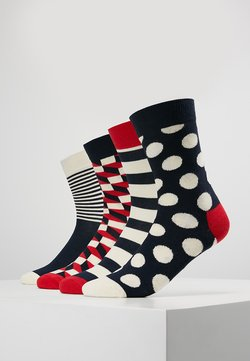 Happy Socks - DOT GIFT BOX 4 PACK - Socken - navy