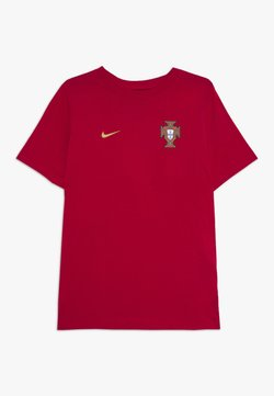 Nike Performance - PORTUGAL FPF TEE CR7 - Nationalmannschaft - gym red