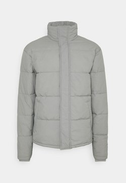 Cotton On - UNISEX ESSENTIAL RECYCLED PUFFER JACKET - Winterjacke - grey