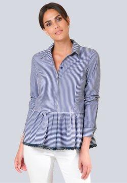 Alba Moda - Hemdbluse - blau weiß